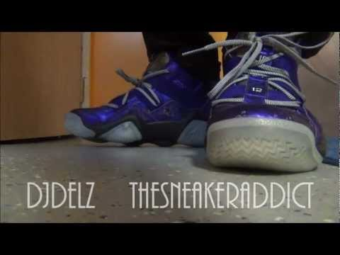 newest 12015 ff893 adidas Top Ten 2000 Nightmare Before Christmas Sneaker Review With DjDelz  Plus On Feet - YouTube
