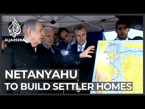 Israel Election: PM Netanyahu Vows To Build New Settler Homes