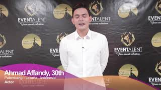 Ahmad Affandy Introduction Video By Eventalent 241