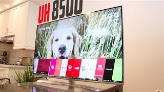 BEST 4K HDR TV Under $1500???   LG UH8500 Review