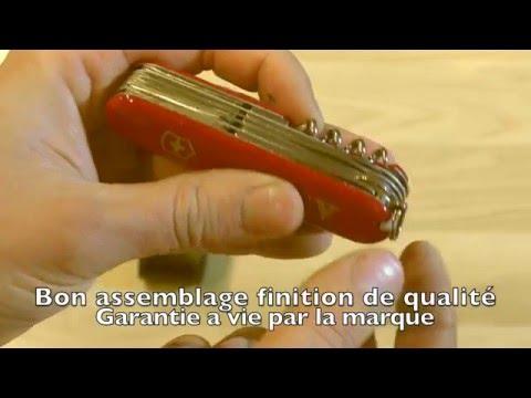 Couteau suisse Victorinox présentation et tests