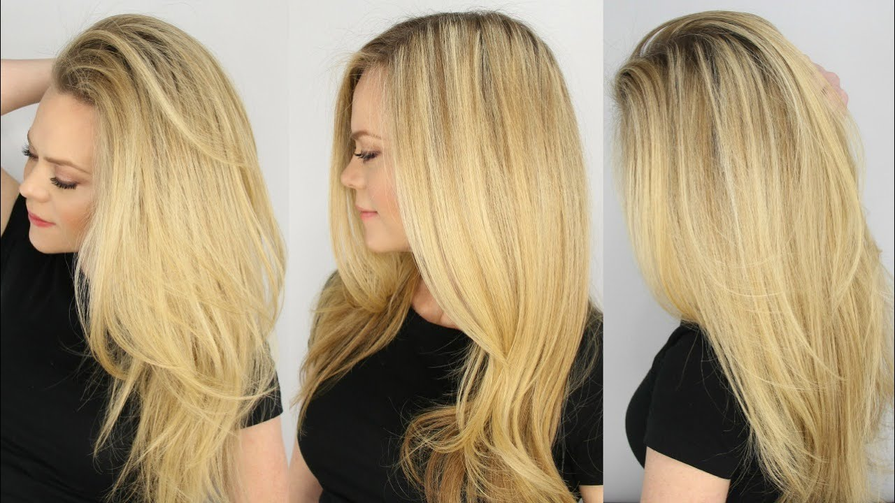 The Perfect Blowout For Everyday Youtube