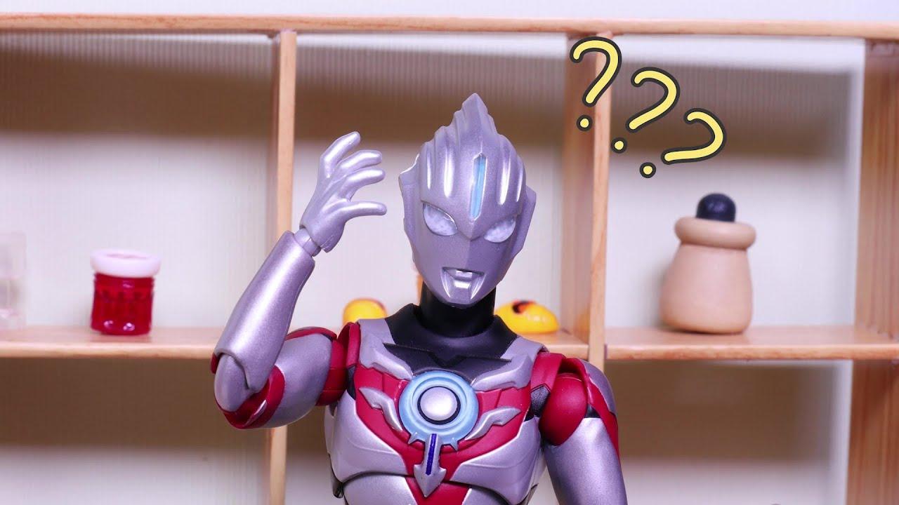 賽羅奧特曼的小賣部!歐布:妳一定是故意讓我砍價的!Ultraman toy story丨阿哦玩具 ao toys