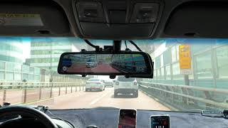 파인뷰 LX3 룸미러블랙박스, 안전운전도우미 과속 안내…