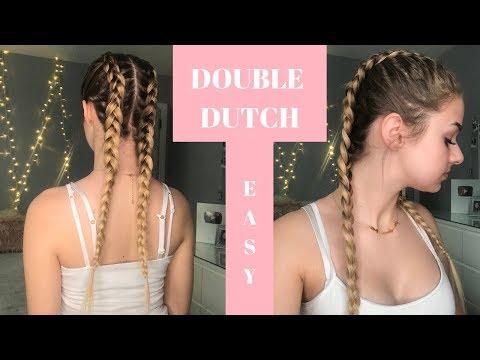 Dutch Braid Hair Tutorial ! | step by step