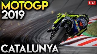 MotoGP в Каталонії 2019 повну гонку - ДП каталонська ігри (MotoGP в 19 Геймплей відео трансляція)