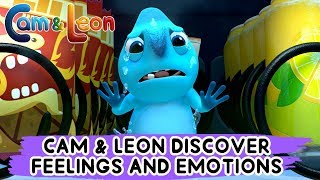 Learning Bahasa Indonesia | Cam & Leon Discover Feelings & Emotions | Cam & Leon