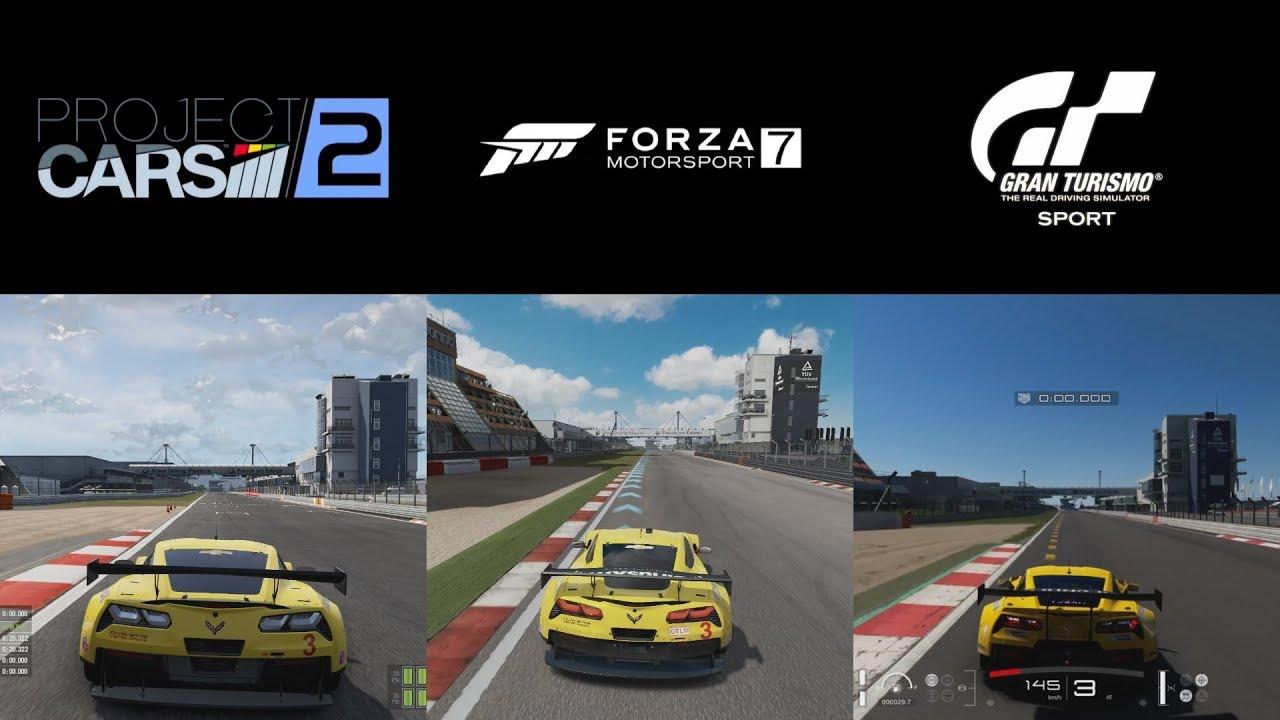 Project Cars  Vs Gran Turismo Sport