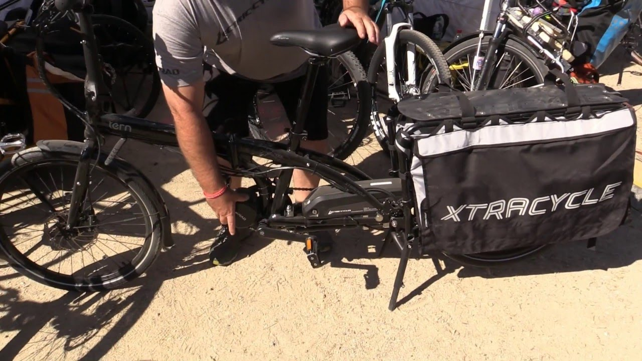 Lectric Cycles eRAD Mid Drive Kit w/ Xtracycle and Tern | Electric Bike  Report