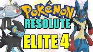 Pokémon Resolute (Detonado - Parte 48) - ELITE 4