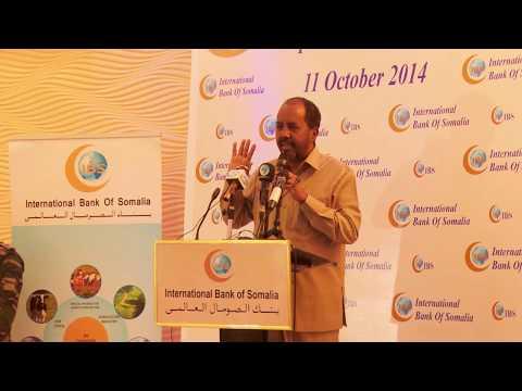 Somali President at IBS