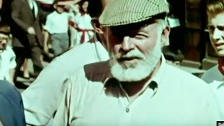 Spain Castles and Fiestas (1959) Ernest Hemingway. Documentary about Spain. Travel in the 50's