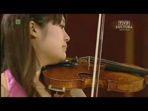 Miki Kobayashi plays at 14th International Wieniawski Violin Competition (Stage 3)