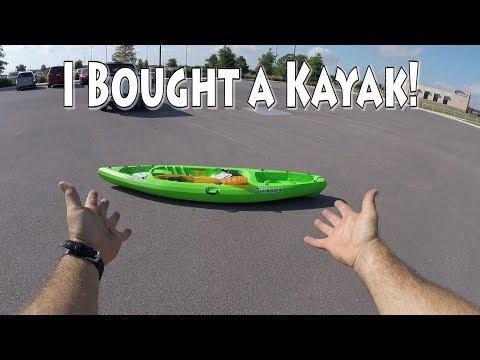 My First Fishing Kayak Walmart Academy Or Bass Pro