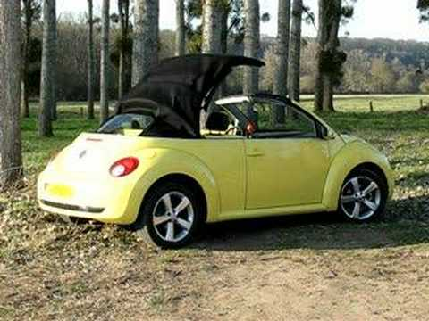 new beetle convertible youtube. Black Bedroom Furniture Sets. Home Design Ideas