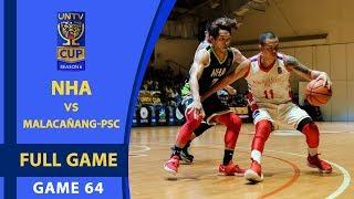 Video FULL GAME: NHA vs Malacañang-PSC (February 18, 2018) download MP3, 3GP, MP4, WEBM, AVI, FLV Oktober 2018