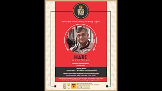 Meet The Media Veterans - 31 | Mr. Hari Mahidhar | Eminent Photographer | IMC, MANUU