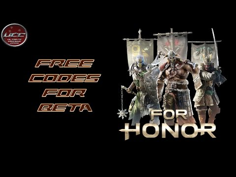For Honor gratis Betacodes PS4 + Xbox One + PC | Team UCC