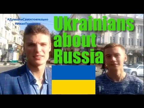 [eng subs] Ukrainians about Russia