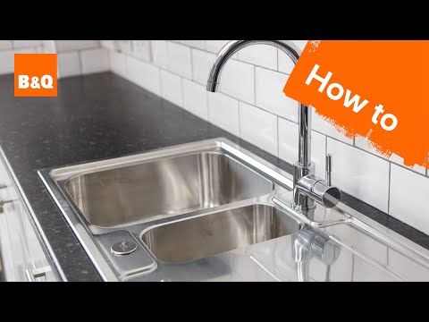 How to replace a kitchen sink part 3: fitting your new sink