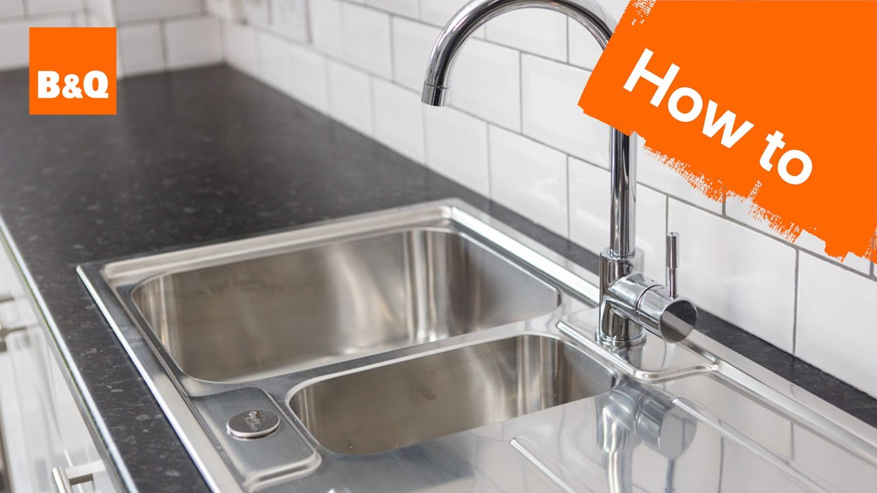 How to replace a kitchen sink part 7: fitting your new sink