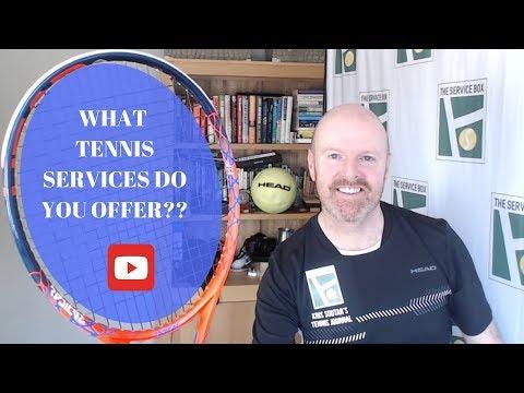 Kris Soutar' Tennis Journal Episode 2