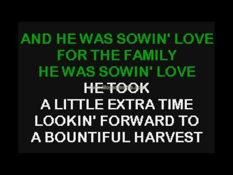 Sowin Love   Paul Overstreet HD Karaoke PK00468