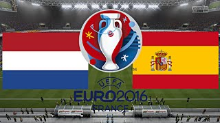 NIEDERLANDE gegen SPANIEN - EM 2016 FRANKREICH | HALBFINALE ◄NED #10►