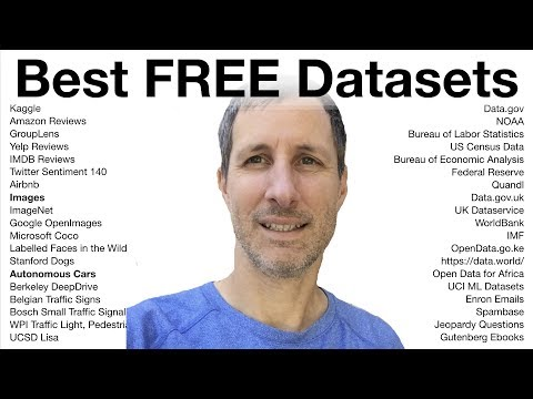 Best FREE Datasets | Open-Source Data For Machine Learning Projects