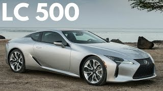 2018 Lexus LC 500: High-Output V8 with Sound and Fury thumbnail
