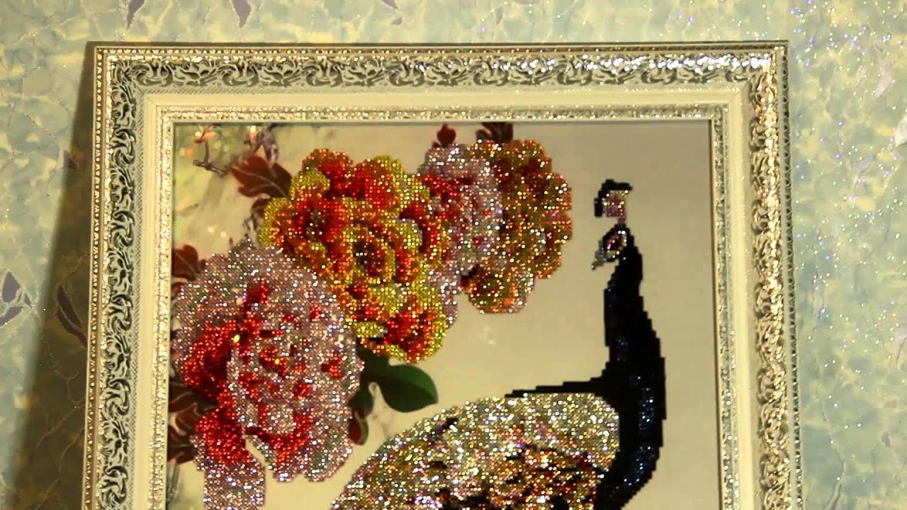 Вышивки из китая алмазами