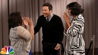 Repeat youtube video Michelle Obama Surprises People Recording Goodbye Messages to Her