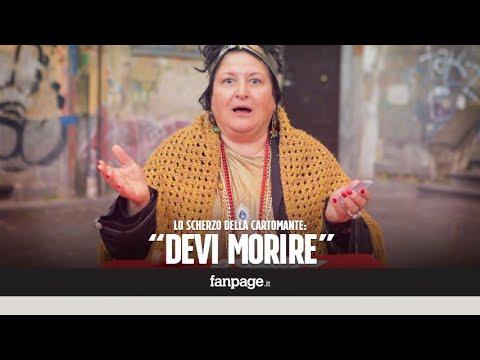 'Stai per morire': lo scherzo della cartomante a Napoli [CANDID CAMERA]