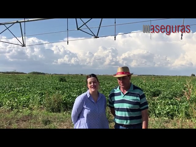 Aseguras entrevista a JUAN ANTONIO, seguros de pivots en Castilla Léon.