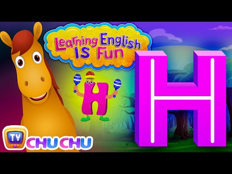 "Learning English Is Fun™ | Alphabet ""H"" 