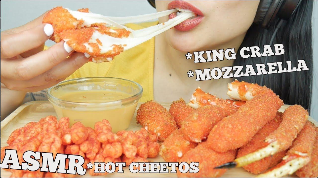 Asmr Hot Cheetos Fried King Crab Mozzarella Sticks Crunchy Eating Sounds No Talking Sas Asmr Youtube Asmr chessey pizza dominos (eatung sound)_ no talking sas asmr |. asmr hot cheetos fried king crab mozzarella sticks crunchy eating sounds no talking sas asmr