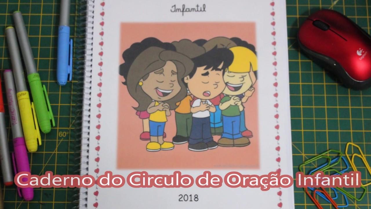 Meu Caderno Circulo De Oracao Infantil Youtube