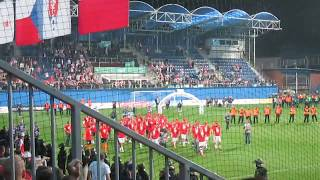 SK Slavia Praha – FK Jablonec - mol cup  2018  - děkovačka