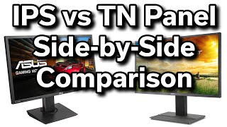 IPS vs TN - Side-by-Side Comparison - Which is better?