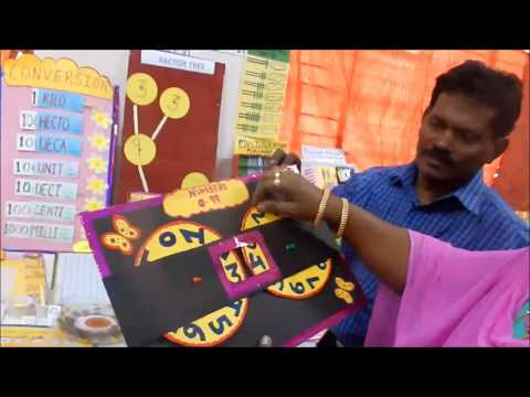 MATHS TLM  EXHIBITION FOR PRIMARY TEACHERS  ON 17/02/18 AT K.V. HVF. AVADI