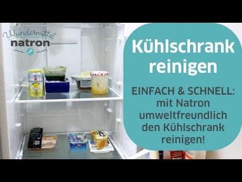 Kühlschrank Reinigen : Kühlschrank reinigen mit natron u umweltfreundlich einfach youtube