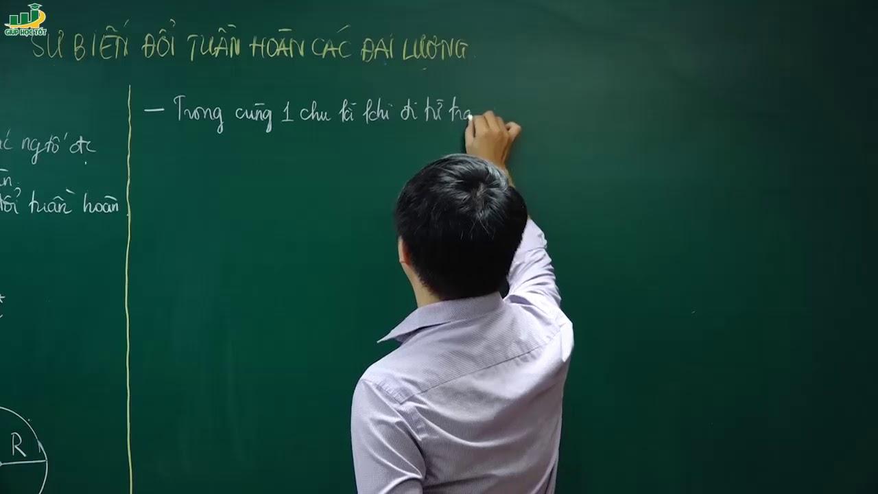 Hóa học lớp 10 – Bài giảng Sự biến đổi tuần hoàn các đại lượng | Thầy Trần Thanh Bình