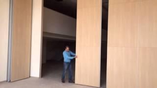 דקור דלת ייצור מחיצות אקוסטיות ניידות