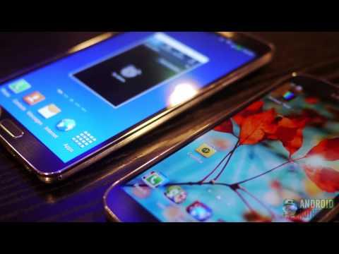Samsung Galaxy Note 3 Vs Galaxy S4: Quick Look