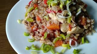 Гречка с курицей и овощами в мультиварке *ПП рецепты*