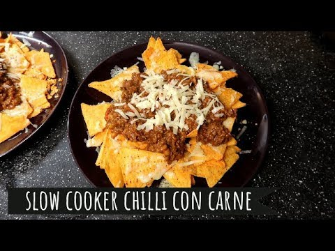 SLOW COOKER CHILLI CON CARNE   COOK WITH ME!