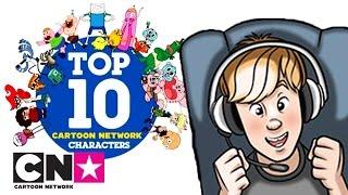 Top 10 Cartoon Network Characters | Scott The Human | Cartoon Network