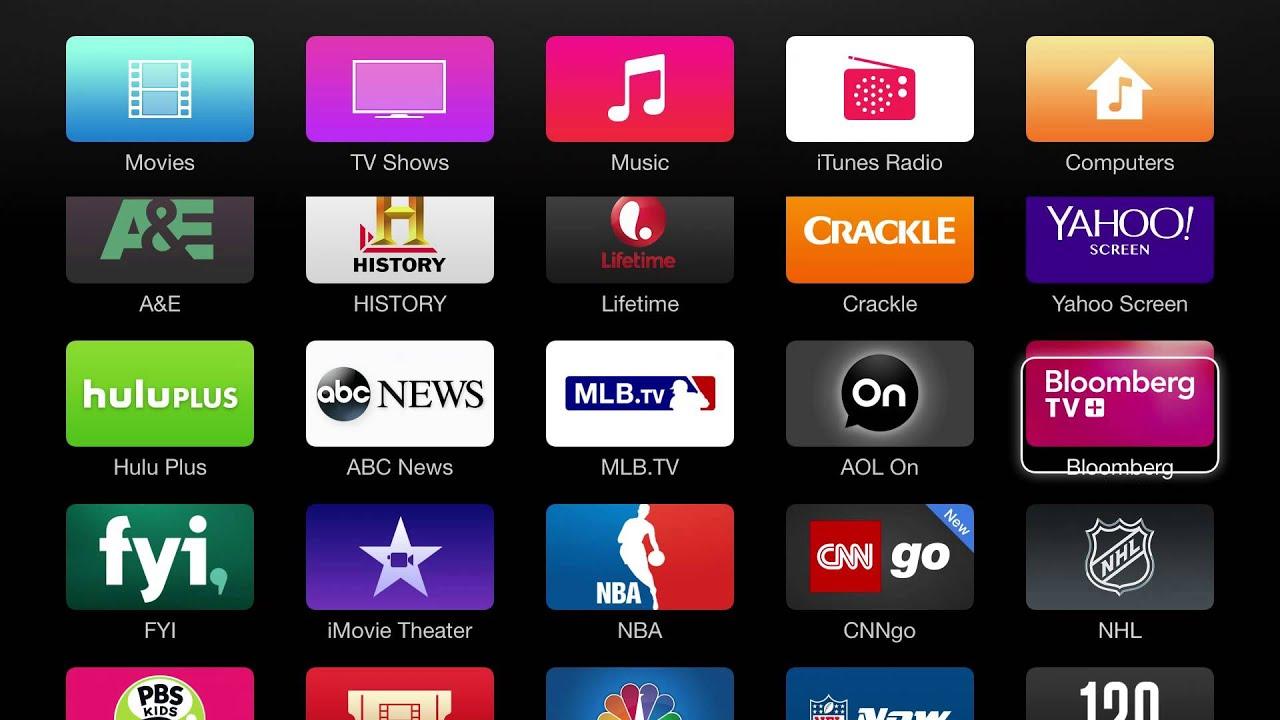 Apple TV Demo - YouTube