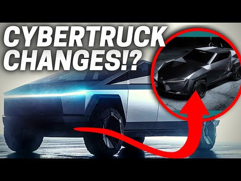 Tesla Cybertruck 2021 REDESIGN (What Might CHANGE!?)