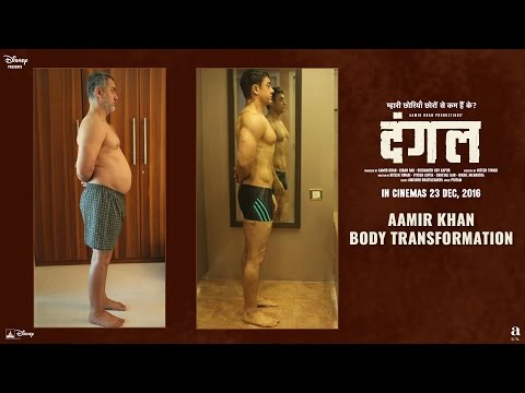 Fat To Fit  Aamir Khan Body Transformation  Dangal  In Cinemas Dec 23, 2016